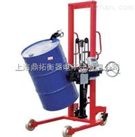 FCS沧州200KG电子倒桶秤,优质铁桶手动液压油桶搬运秤