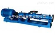 浓浆专用G型螺杆泵G40-1