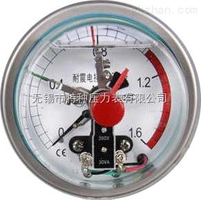 不锈钢抗振磁敏电接点压力表