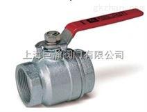 台湾金口球状石墨铸铁螺纹球塞阀