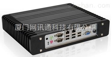 华北工控机BIS-6660独立双显示嵌入式串口工控机