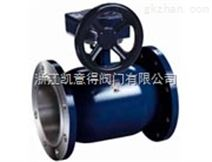 碳钢不锈钢法兰全焊接蜗轮球阀