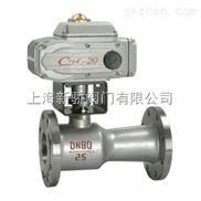 QJ941M电动高温法兰球阀
