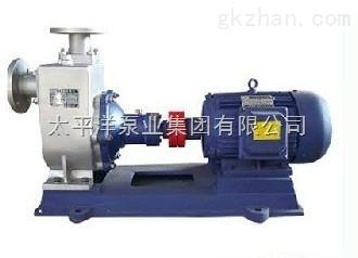 ZWP不锈钢无阻塞自吸排污泵