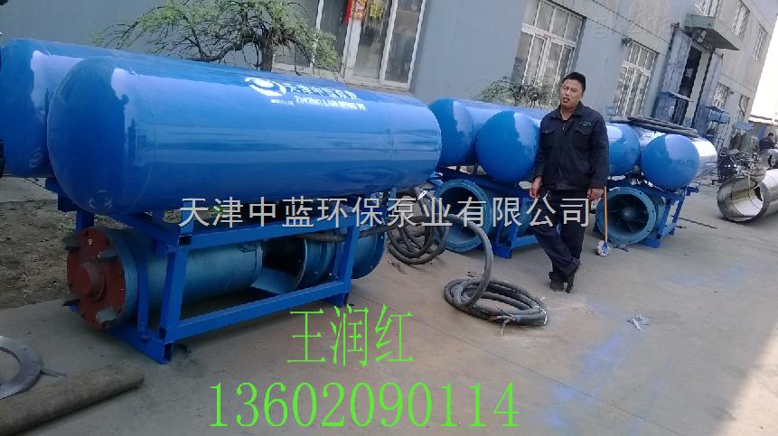 浮筒式潜水泵_立式轴流泵
