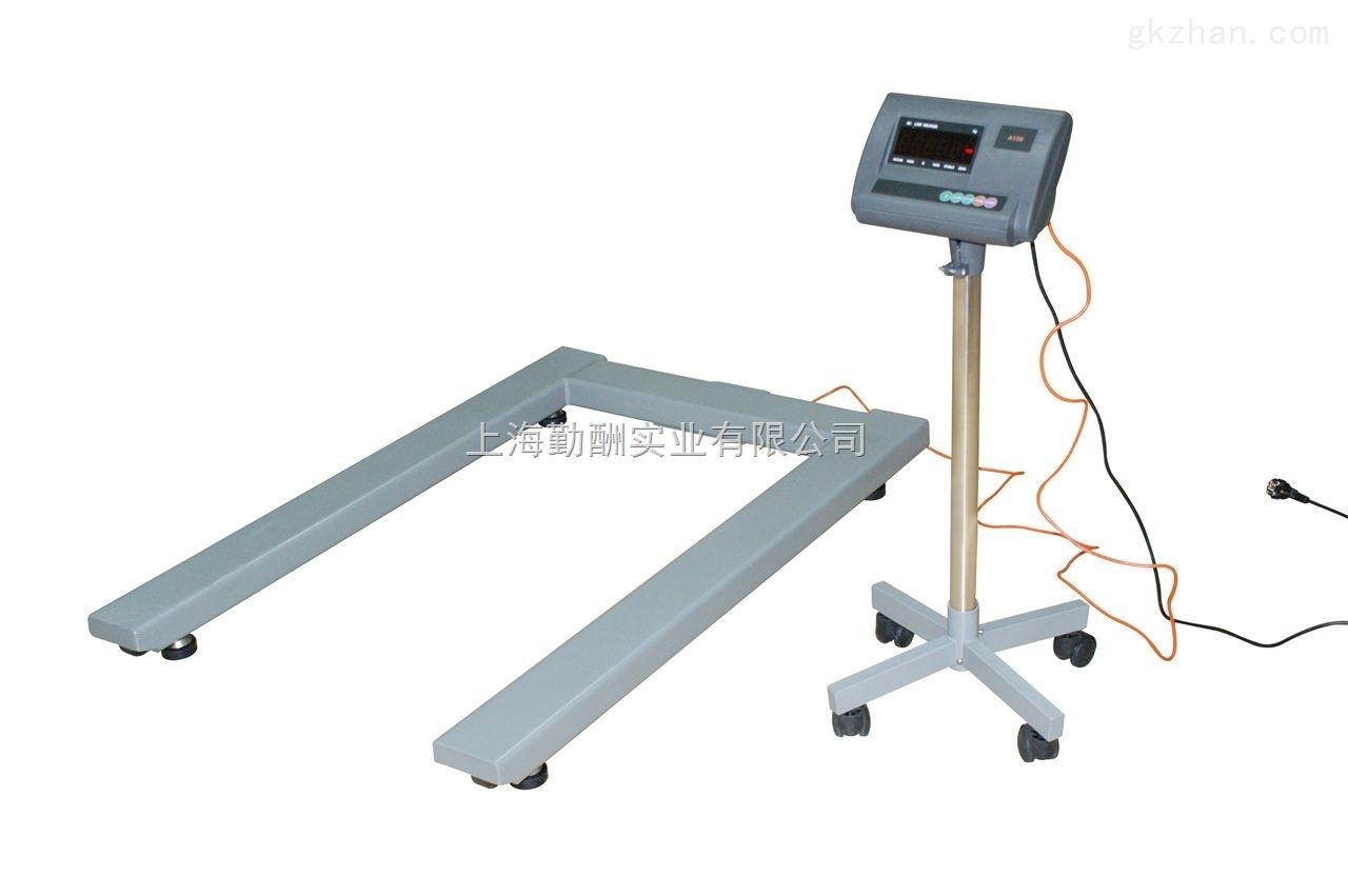 不锈钢地磅秤厂家供应 分体式U型条型小地磅秤