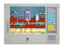 15寸工业级一体化工作站,机架式安装、10个PCI/ISA插槽