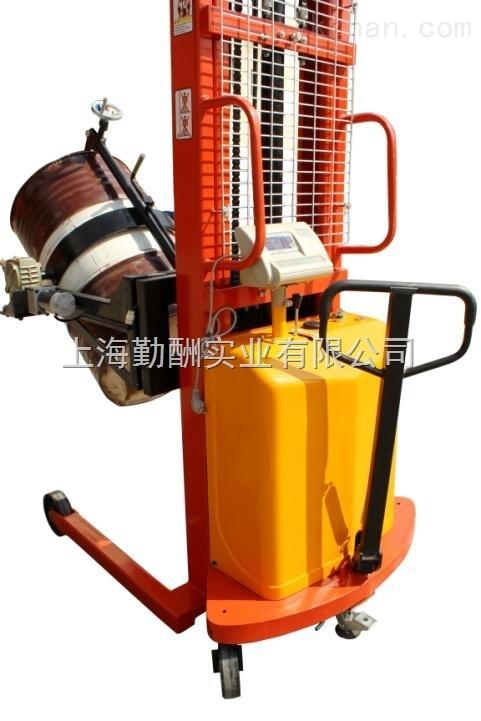 上海电动倒桶秤,手动液压油桶搬运称圆桶电子秤