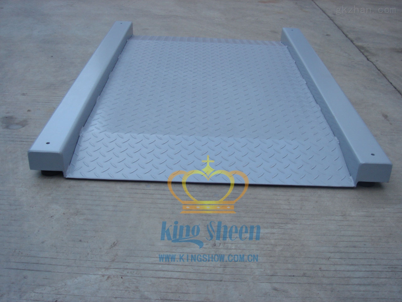 大台面电子地磅秤/单层地磅/碳钢