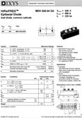 全新原装正品进口德国艾赛斯大功率二极管MEK150-04DA