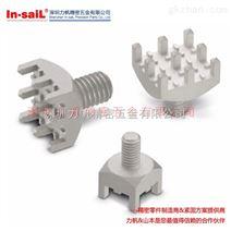 螺钉式pcb接线端子 2.54针间距 PCB大电流接线柱 非焊接压配式