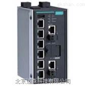 moxa 6口DSL以太网扩展器网管型工业交换机