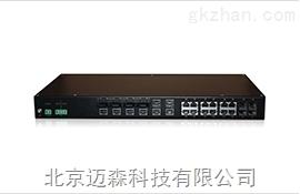 迈森千兆非网管型机架式工业交换机MS28AC-4G系列