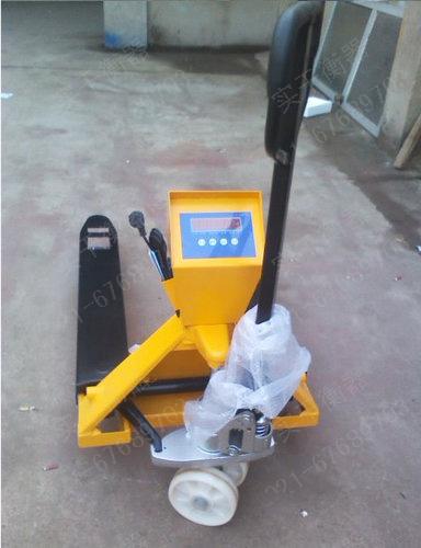 上海2吨液压叉车秤