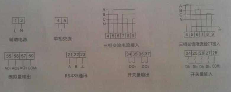 勇泰三相k系列电流-三相电流表/数显电流表/可编程表