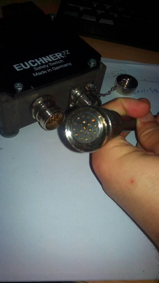 M23连接器19芯