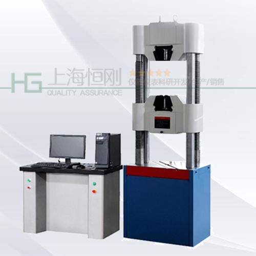电液伺服控制液压万能电子试验机图片